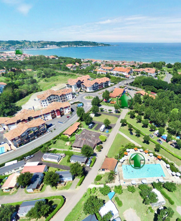 Camping Hendaye 4 Toiles Camping Pays Basque Cote Basque