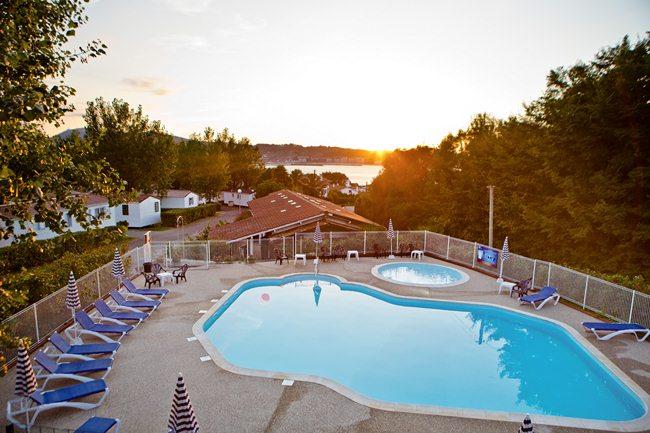 Galeries photos et vid os du camping hendaye seres pays basque Camping cote basque avec piscine