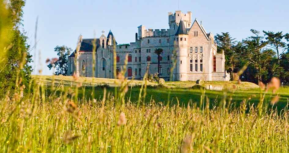 visiter le chateau d'hendaye