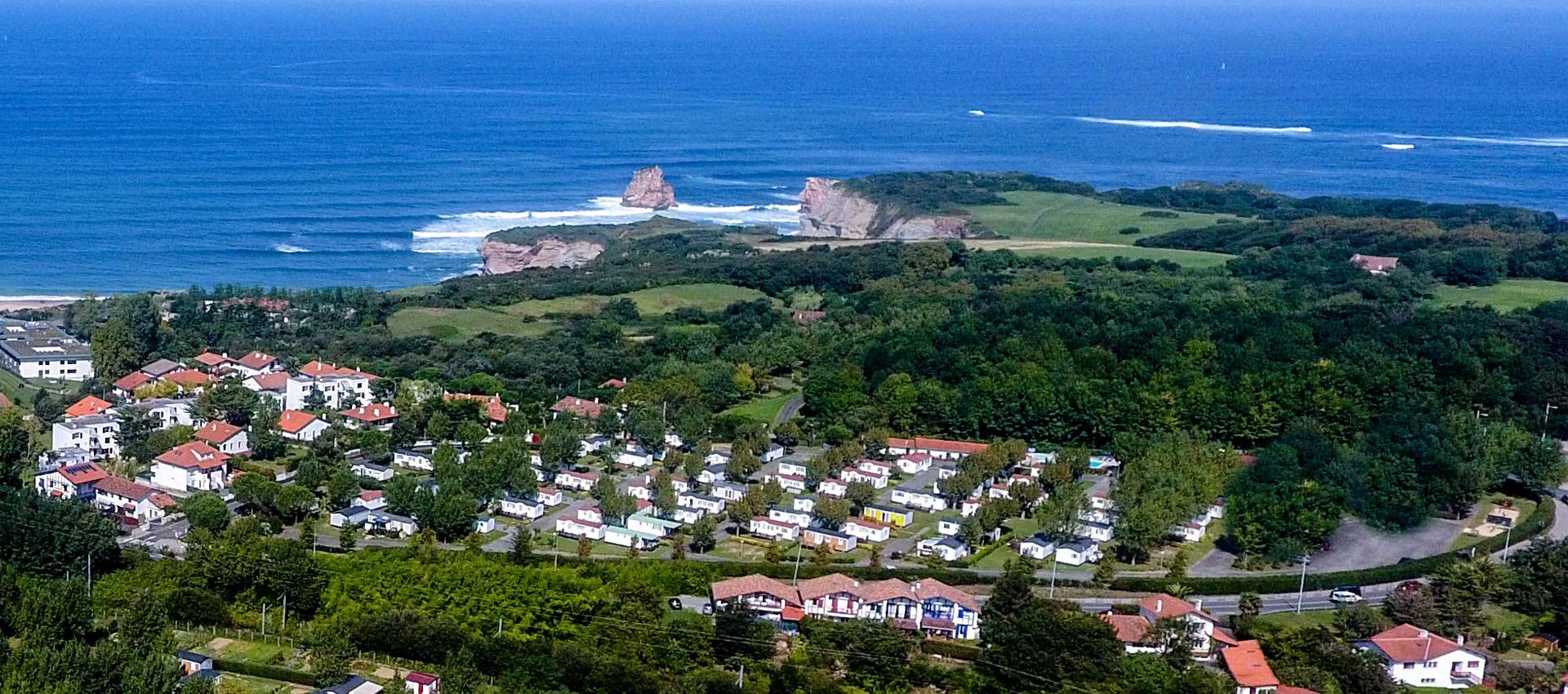 Camping Hendaye 4 étoiles, camping Pays Basque Cote Basque bord de mer